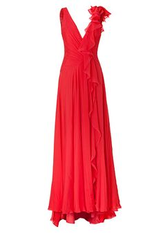 STYLEBOP.com   GeraniumSilkChiffonGownbyJENNYPACKHAM   the latest trends from the capitals of the world