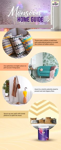 Here are some monsoon ideas that your home will surely benefit from.