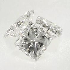 0.117 ct H Color SI2 Clarity 2.77x2.65x1.89mm Princess Cut Natural Loose Diamond