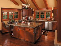shaker doors and hardware - Google Image Result for http://canyoncreek.com/images/PhotoGallery/CornerstoneKitchens/Cherry/Normandy2119.jpg
