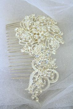 Bridal Hair Comb Wedding Hair Comb- Wedding Hair Accessories-Rhinestone Bridal Comb-Crystal Wedding Comb-Bridal Headpiece on Etsy, $55.62 AUD