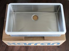 Beau An Undermount Sink In Laminate Countertops