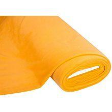 Tissu polaire, jaune soleil