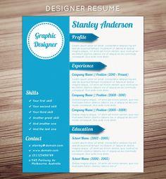design, job application, layout, wood, white, blue,