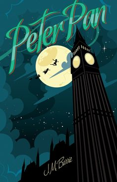 My cover for Rock Paper Books edition of Peter Pan. You can find out more at www.RockPaperBooks.com or www.MikeMahle.com Created in Adobe Illustrator CS6, with a wacom tablet, and the mighty pen to...