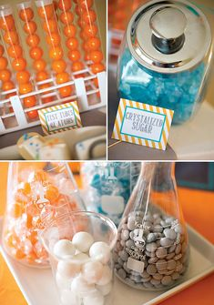 Cool Chemistry Inspired Science Party {9th birthday}