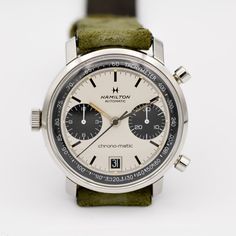 The Forgotten Vintage Chronographs of Rue Watches Fine Watches, Watches For Men, Watch Gears, H Logos, Vintage Watches, Hamilton, Chronograph, Omega Watch, Full Set