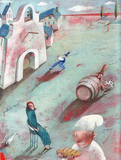 """Illustration by Svetlan Junacović"" Michael Sowa, Biro, Illustrations And Posters, Children's Book Illustration, Cool Art, Awesome Art, Figure Drawing, Childrens Books, Illustrators"