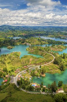 Green emerald - El Penol - Guatape - Columbia Its Colombia, no Columbia! Trip To Colombia, Colombia Travel, Colombia South America, South America Travel, Latin America, Oh The Places You'll Go, Places To Travel, Places To Visit, Places