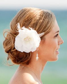 Wedding hair - low update- without the flower