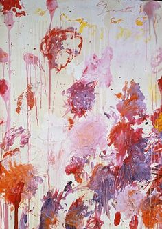 King of the scribbles: Celebrated American painter Cy Twombly dies in his…