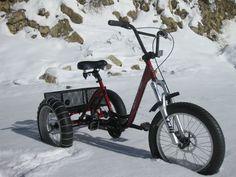 MOUNTAIN TRIKE 3 SPEED FAT TIRE BEACH CRUISER bike tricycle road RV adult BMX