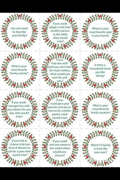 Christmas dinner table games conversation starters 60 ideas for 2019 Merry Christmas, Christmas Games, Christmas Holidays, Christmas Parties, Christmas Treats, Christmas Recipes, Christmas Dinner Party Games, Christmas Dinner Ideas Family, Christmas Dinner Starters