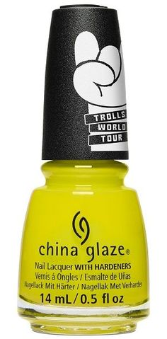 China Glaze launches a harmony of colors and finishes themed by Trolls World Tour. A nail lacquer that is long lasting, chip - resistant and resistant to color and shine fading. Will not thicken in the bottle, no thinners necessary. China Glaze Nail Polish, Opi Nail Polish, Nails, Nail Hardener, China Clay, Adipic Acid, Color Club, Nail Treatment, Nail Polish Collection