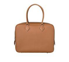 hermes handbag  - Herm��s Plume Hermes bag in sapphire blue swift calfskin Measures ...