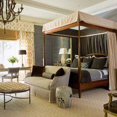 Country house - contemporary - Bedroom - Baltimore - Patrick Sutton Associates