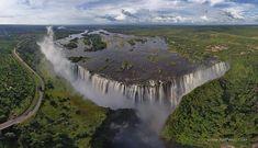 Waterfalls around the World | AirPano.com | 360 Degree Aerial ...