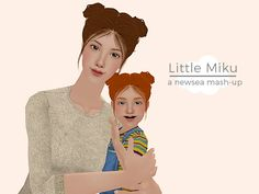 I really should fix the lighting in my game >< I made a thing :D I made this for Toddler month, but I didn't finish it in time :( I wanted a cute hair for…
