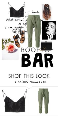 """""""Roof tops. #115."""" by leadu33 ❤ liked on Polyvore featuring beauty, Alexander Wang, Rosetta Getty, Frame Denim and Mulberry"""