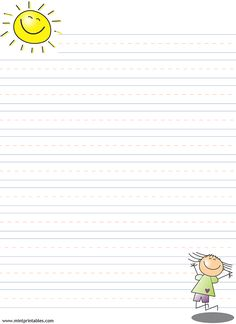 picture about Printable Stationary for Kids referred to as 254 Excellent Stationery/borders for small children visuals in just 2019