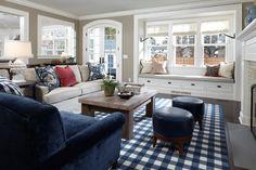 Georgian Style - traditional - family room - minneapolis - Streeter & Associates, Renovation Division