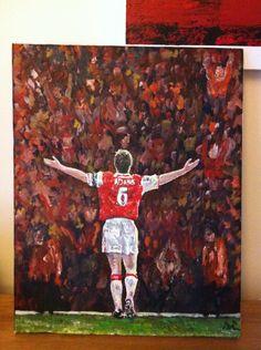 Website For Dean Russell – No Longer Active – Latest painting – Tony Adams Celebration Arsenal Fc, Tony Adams, I Tattoo, Dean, Celebration, Football, Graphics, Cartoon, Sport