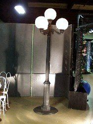 A large and impressive piece, this streetlight looks great teamed with a park bench! Makes a good photo op. Starry Night Prom, Street Lamp, Great Team, Globe Lights, New Orleans, Cool Photos, Bench, Magic, Park
