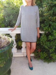 La chronique d'Aurélie //54// Mini-robe façon Twiggy #couture #sewing #robe - Burda Style de juillet 2014 avec la mini-robe 116