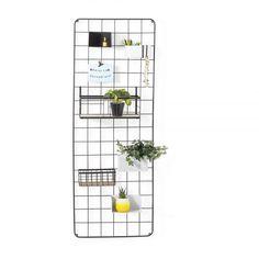 Wandrek metaal - 150x55 cm - zwart World Wallpaper, Photo Wallpaper, Wall Decor, Room Decor, Wall Racks, Bedroom Wall, Own Home, Farmhouse Decor, Diy