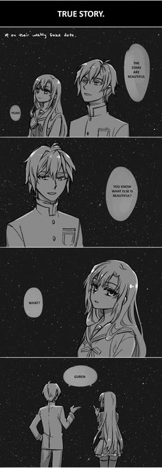 Mahiru and Shinya | Light Novel | Owari no Seraph | Funny XD