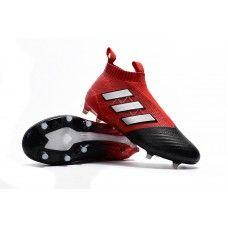 2898068d5 Crear Botas De Futbol Adidas ACE 17+ Purecontrol FG Rojo Blanco Negro