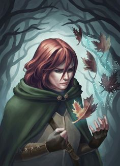 Kvothe fan art by Abbey Tex Johnson