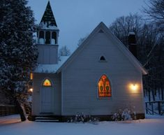 Old Church and house for sale in Upstate New York...