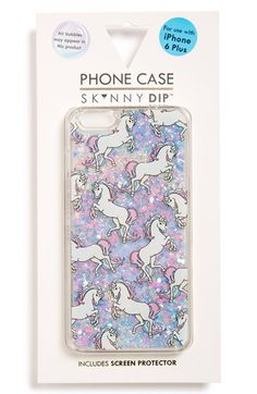 Skinnydip Unicorn iPhone 6 Plus & 6s Plus Case available at #Nordstrom