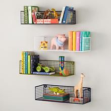 Down to the Wire Shelf in Shelves & Hooks | The Land of Nod
