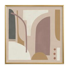 """""""Collage Two"""" - Limited Edition Art Print by Jessie Burch in beautiful frame options and a variety of sizes. Neutral Colour Palette, Mixed Media Collage, Art Store, Geometric Form, Home Wall Art, Custom Art, Canvas Frame, Jessie, Wall Art Prints"""