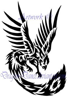 pictures of tribal phoenix bird | Email This BlogThis! Share to Twitter Share to Facebook Share to ...