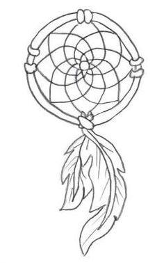 simple dream catcher tattoo - Google Search