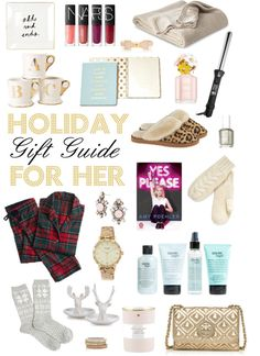 Holiday Gift Guide for Her 2014