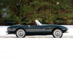 1957 BMW 507 Roadster Maintenance of old vehicles: the material for new cogs/casters/gears/pads could be cast polyamide which I (Cast polyamide) can produce