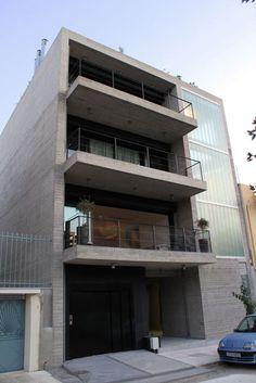 Διπλοκατοικία στο λόφο Φιλοπάππου Δημήτρης Θωμόπουλος _ 2009