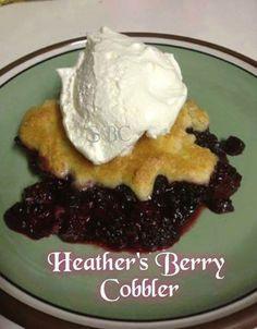 Heather's Berry Cobbler