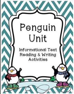 Penguins - Common Core Non-Fiction Unit (reading and writing)