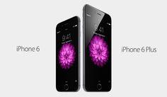 iPhone 6 e iPhone 6 Plus com tamanhos de tela diferentes  09.09.2014 lançamento em USA