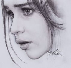 Realistic Portrait Drawing Portrait drawing by Anindito Wisnu Pencil Portrait Drawing, Realistic Pencil Drawings, Portrait Sketches, Pencil Art Drawings, Art Drawings Sketches, Portrait Art, Face Drawings, Girl Drawings, Dessin Game Of Thrones