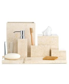 Hotel Collection Marble Collection - Bathroom Accessories - Bed & Bath - Macy's