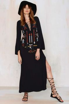Abequa Embroidered Dress | Shop Clothes at Nasty Gal!