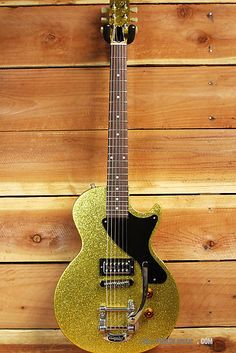 Gibson Les Paul Melody Maker Special Gold Sparkle with Bigsby