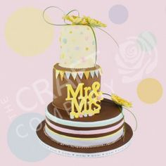Chocolate and Pastel Wedding Cake Pastel Blue, Pastel Colors, Colours, Pastel Wedding Cakes, Cake Decorating Supplies, Cake Tutorial, Gum Paste, Chocolate Cake, Cake Toppers