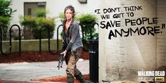 Can they save people anymore? #TheWalkingDead
